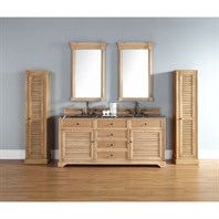 "James Martin 72"" Savannah Double Vanity - Natural Oak 238-104-5721"