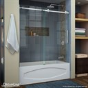 Bath Authority DreamLine Enigma Air 56 - 60 in. Frameless Sliding Tub Door SHDR-64606210