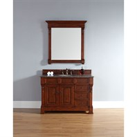 "James Martin 48"" Brookfield Single Vanity with drawers - Warm Cherry 147-114-5286"