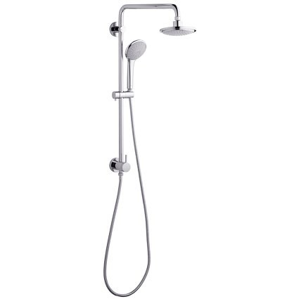 Grohe Retro-Fit Shower System - Starlight Chromenohtin Sale $508.99 SKU: GRO 27867000 :