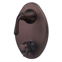 Danze® Bannockburn™ Two Handle Thermostatic Shower Trim Kit - Oil Rubbed Bronze
