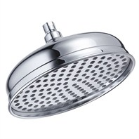 "Danze® 10"" Antique Bell Showerhead - Chrome"