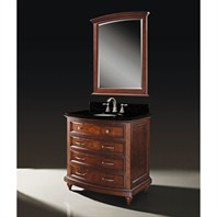 "Luxe Carrington 36"" Single Bathroom Vanity - Meridian Cherry B3509BV36-C245"
