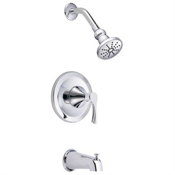 Danze Antioch Trim Only Single Handle Tub & Shower Faucet   Chrome