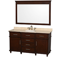 Berkeley Free-Standing Transitional Bathroom Vanities