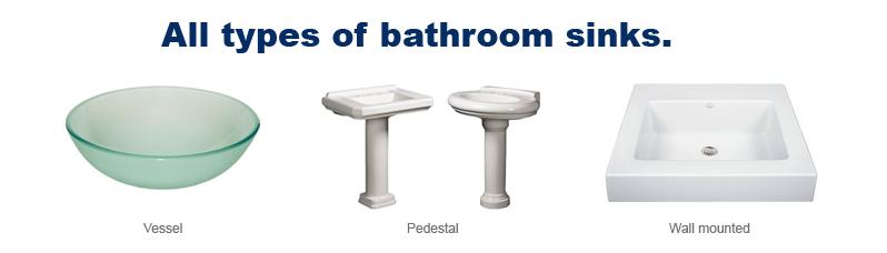 Buy Bathroom Sinks Modern Vanity Pedestal Vessel Modern Bathroom