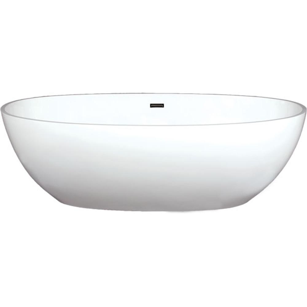 "Americh Roc Beijing 7135 Freestanding Bathtub, 71"" x 35"" x 22"" RC2206 by Americh"