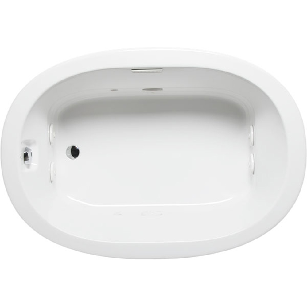 """Americh Olvan 6042 Whisper Bathtub, 60"""" x 42"""" x 23"""" OV6042W by Americh"""