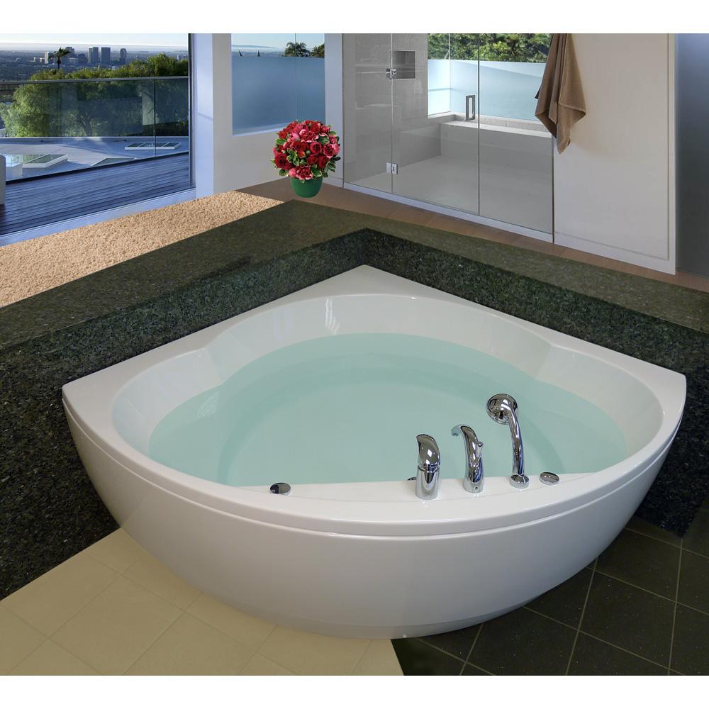 Aquatica Cleo Freestanding Acrylic Bathtub White Free