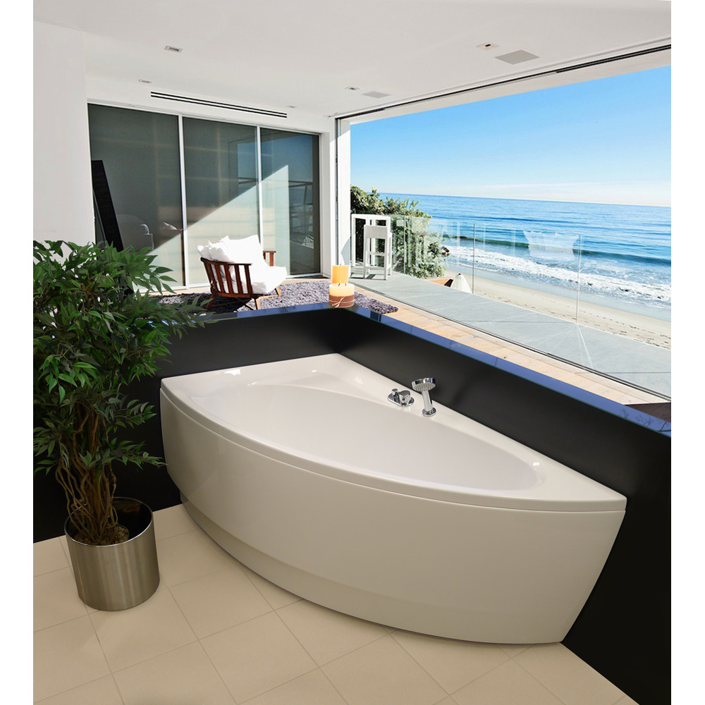 Aquatica Idea Corner Acrylic Bathtub