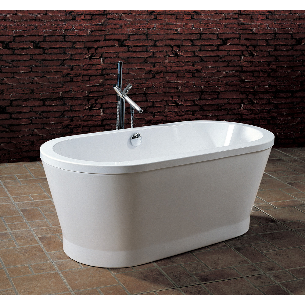 Aquatica purescape 302 freestanding acrylic bathtub for Freestanding tubs for sale