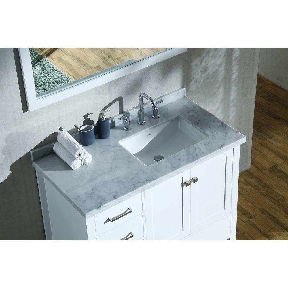Ariel Cambridge 43 Quot Single Sink Vanity Set With Right