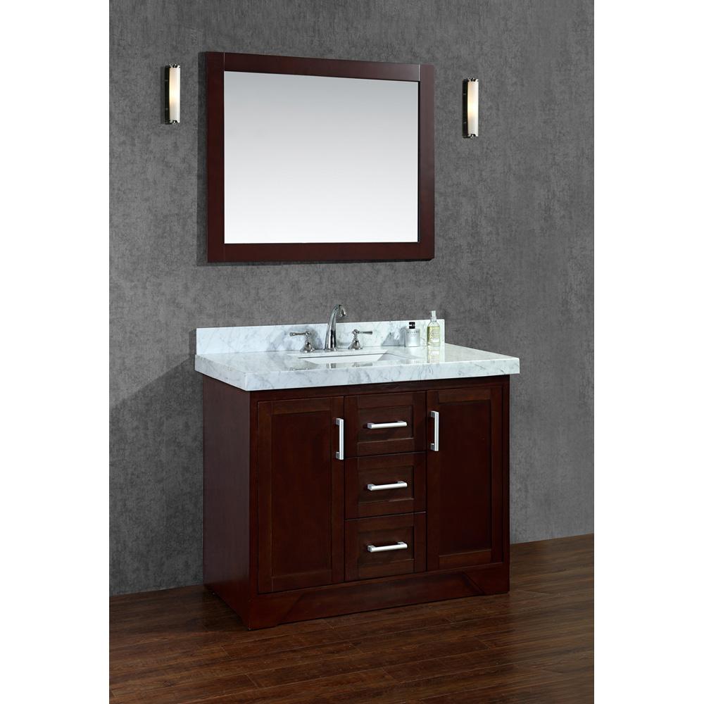"""Vanity Bathroom Sale: Seacliff By Ariel Ashbury 42"""" Single Sink Vanity Set With"""