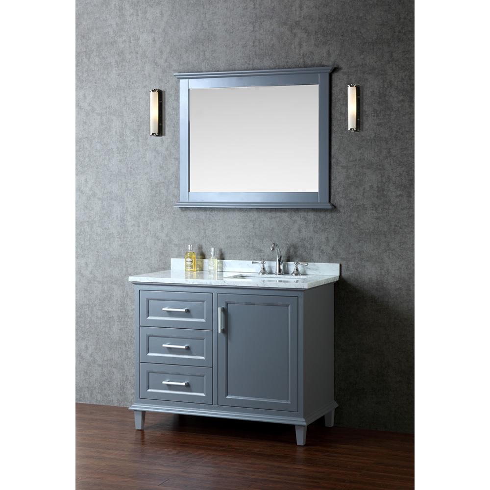 Seacliff By Ariel Nantucket 42 Quot Single Sink Vanity Set