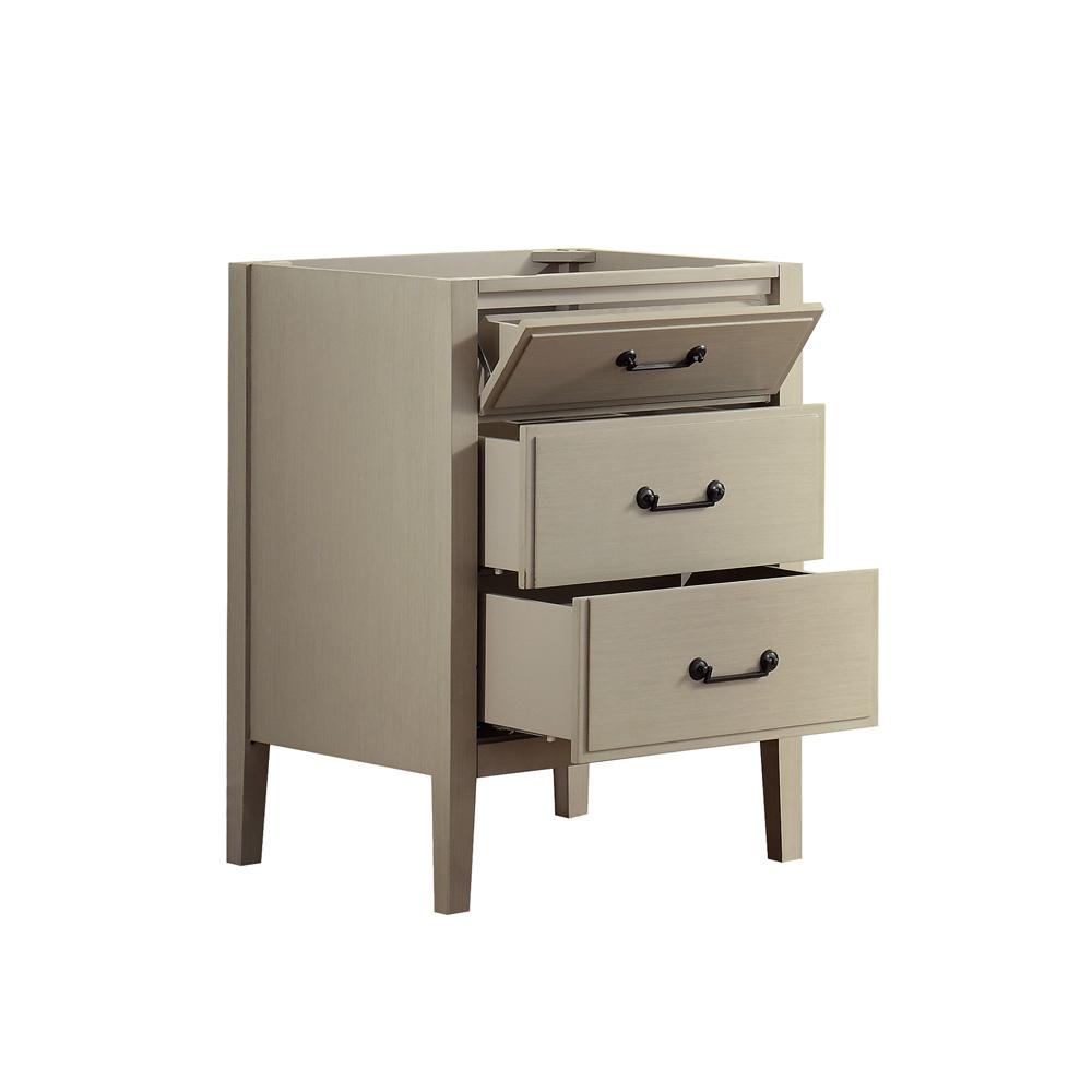 "Glazed Kitchen Cabinets Vs White: Avanity Delano 24"" Single Bathroom Vanity With Countertop"
