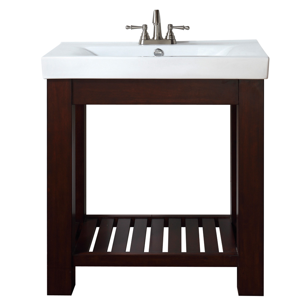 Avanity Lexi 30 Quot Vanity Set With Integrated Porcelain Top