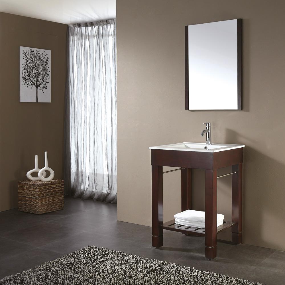 Avanity Loft 48 Quot Single Modern Bathroom Vanity Set Dark