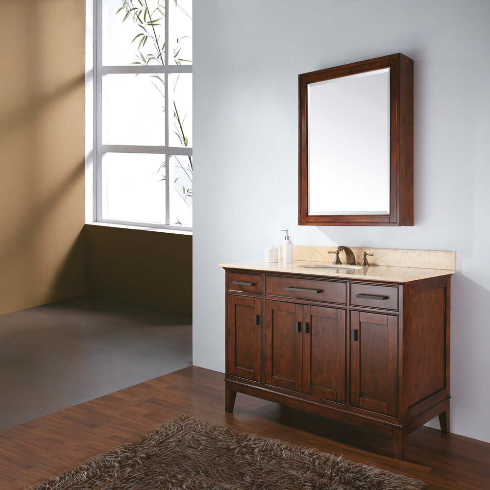 Avanity Madison 48 Quot Bathroom Vanity Tobacco Free Shipping Modern Bathroom