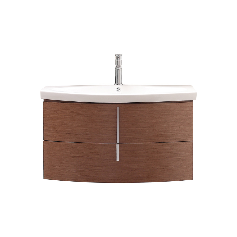 Avanity siena 36 bathroom vanity with vitreous china top chestnut free shipping modern for Bathroom vanities china wholesale