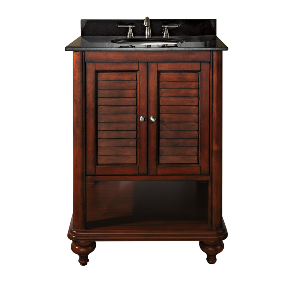 Avanity tropica 25 bathroom vanity with countertop antique brown free shipping modern for Avanity tropica 25 bathroom vanity