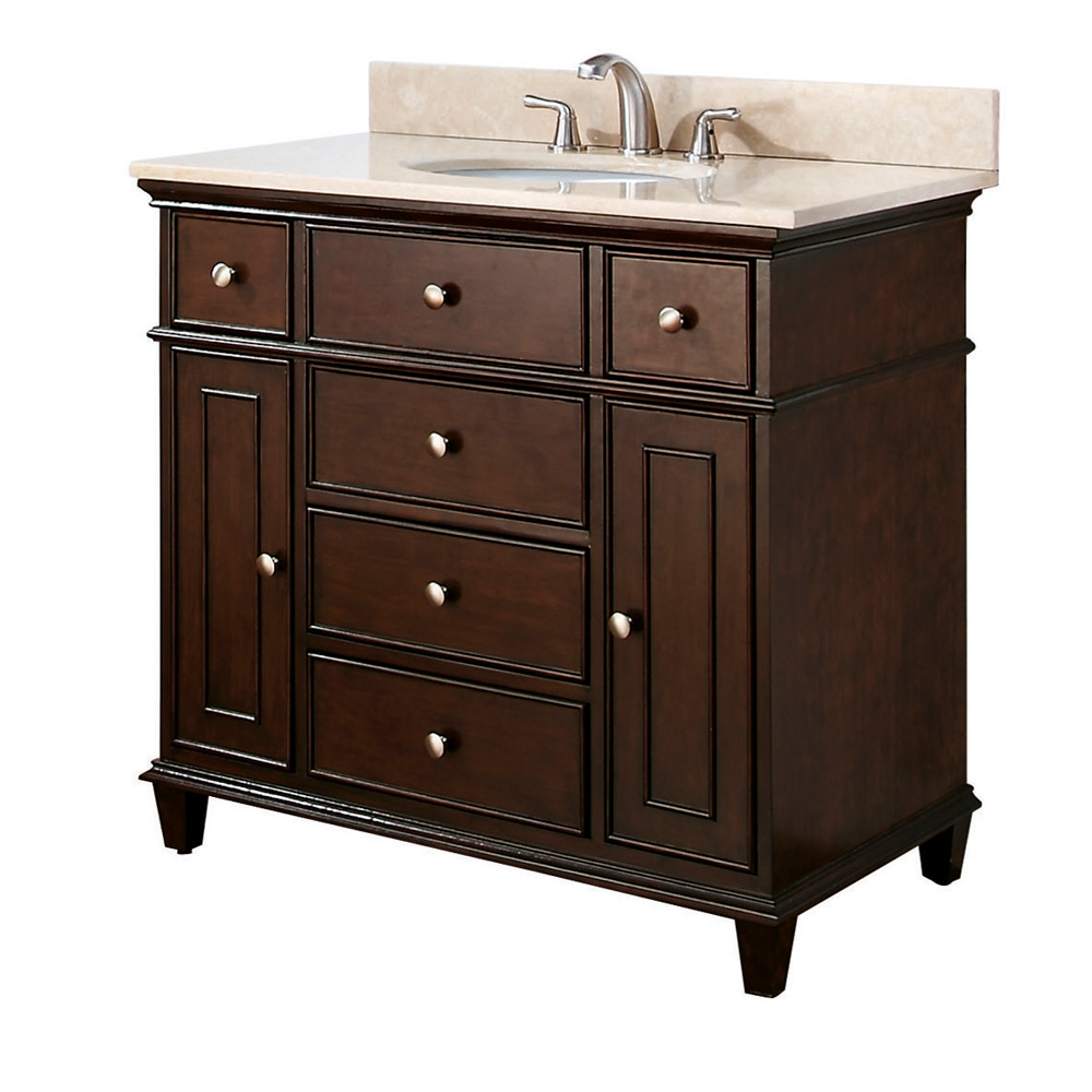 "Avanity Windsor 36"" Vanity - Walnut"