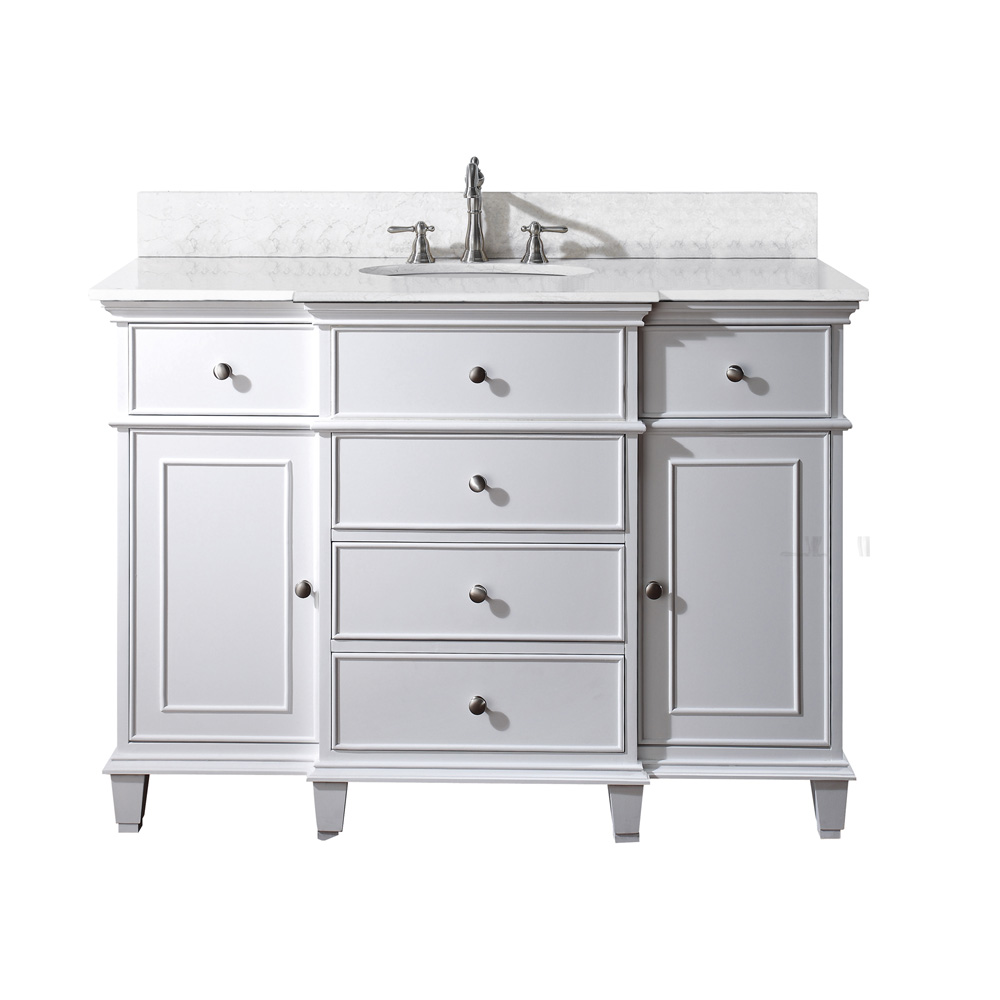 Avanity Windsor 48 Quot Bathroom Vanity White Free