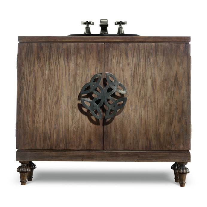 "Cole & Co. 42"" Designer Series Briggs Sink Chest - Natural medium chestnut 11.22.275542.65"