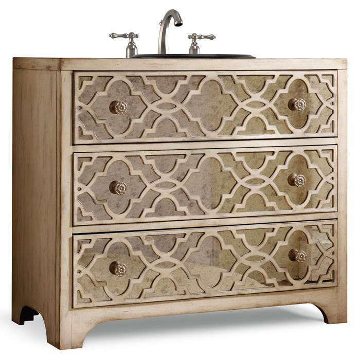 "Cole & Co. 36"" Designer Series Grace Hall Chest - Pearl Essence 11.22.275536.58"