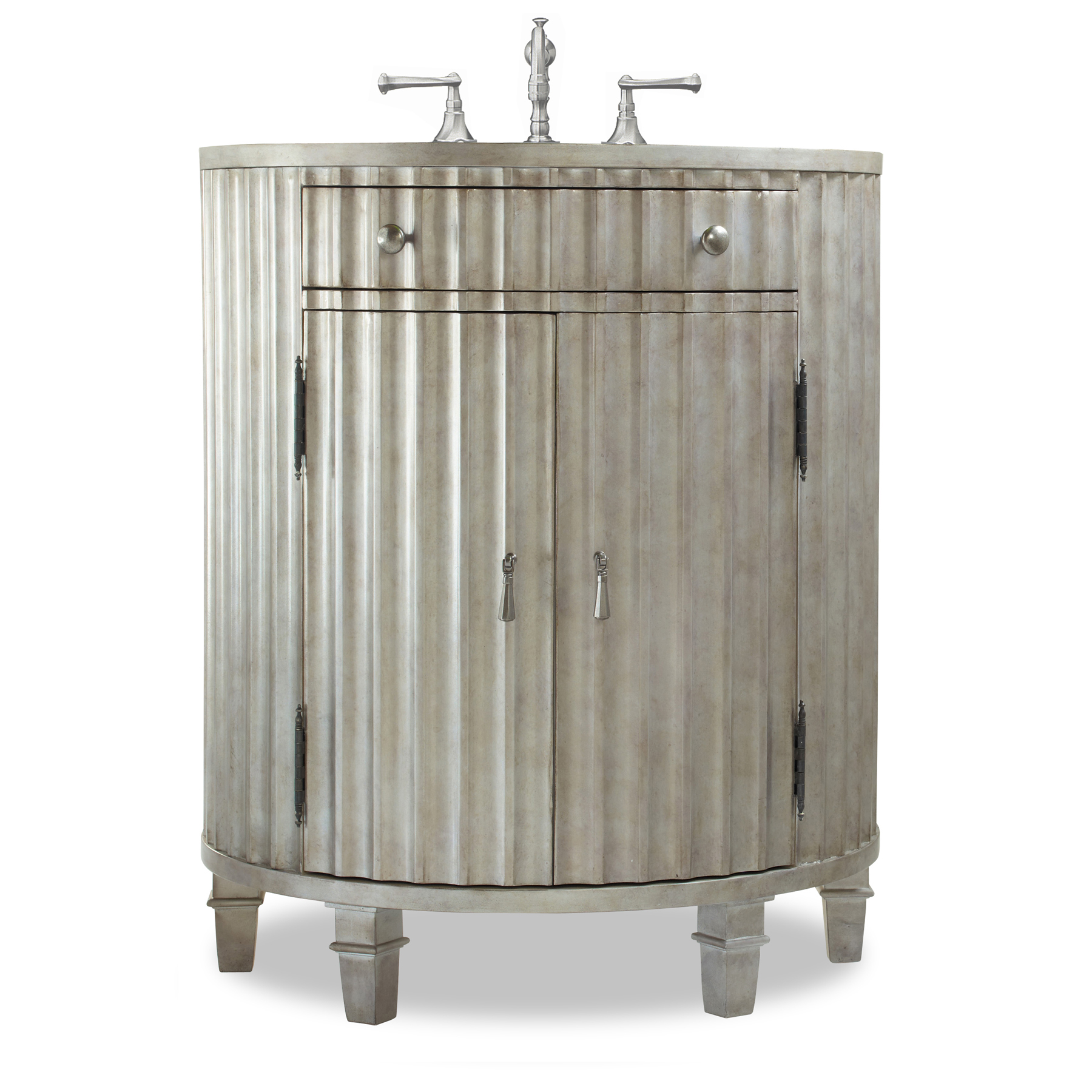 Cole Co 30 Designer Series Collection Kinkaid Vanity Antiqued Platinum Free Shipping