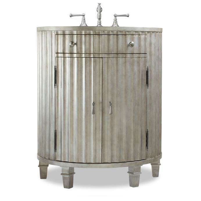 "Cole & Co. 30"" Designer Series Collection Kinkaid Vanity - Antiqued Platinum 11.22.275530.26"