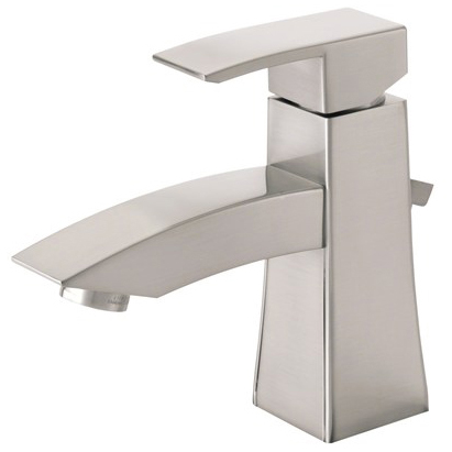 Danze logan square single handle lavatory faucet brushed nickel free shipping modern bathroom for Danze bathroom faucets reviews
