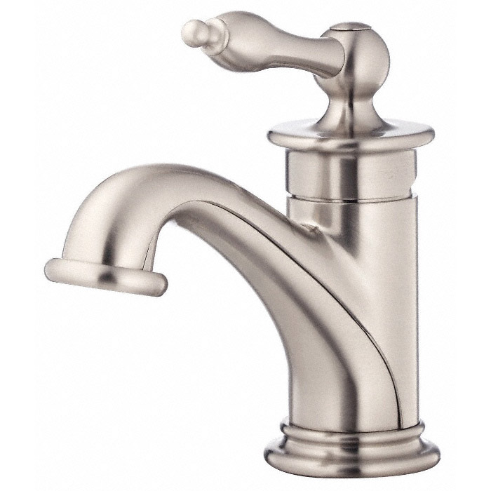 Danze prince single handle lavatory faucet brushed nickel free shipping modern bathroom for Danze bathroom faucets reviews