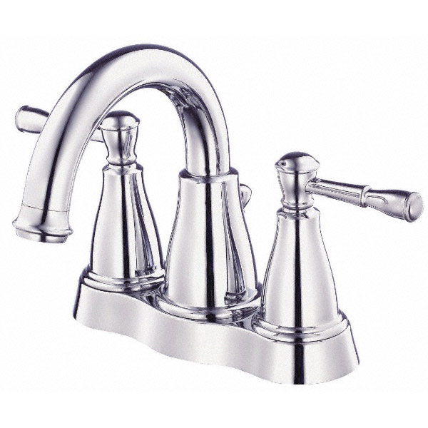 Danze Eastham Two Handle Centerset Lavatory Faucet, Chrome D301115 by Danze