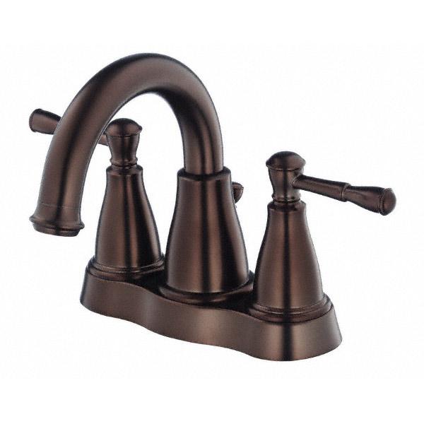 Danze Eastham Two Handle Centerset Lavatory Faucet, Tumbled Bronze D301115BR by Danze