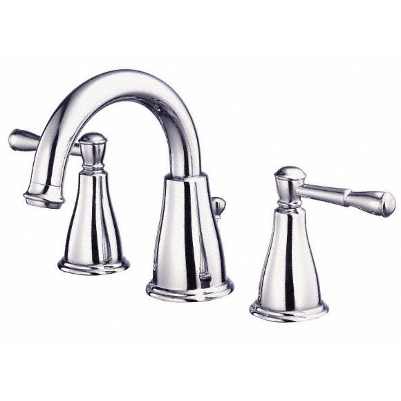 Danze Eastham Two Handle Widespread Lavatory Faucet, Chrome D304115 by Danze