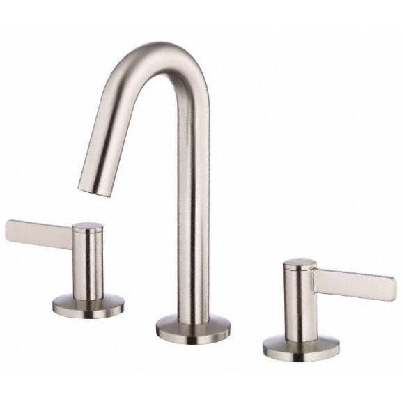 Danze Amalfi Two Handle Mini Widespread Lavatory Faucet Brushed Nickel Free Shipping