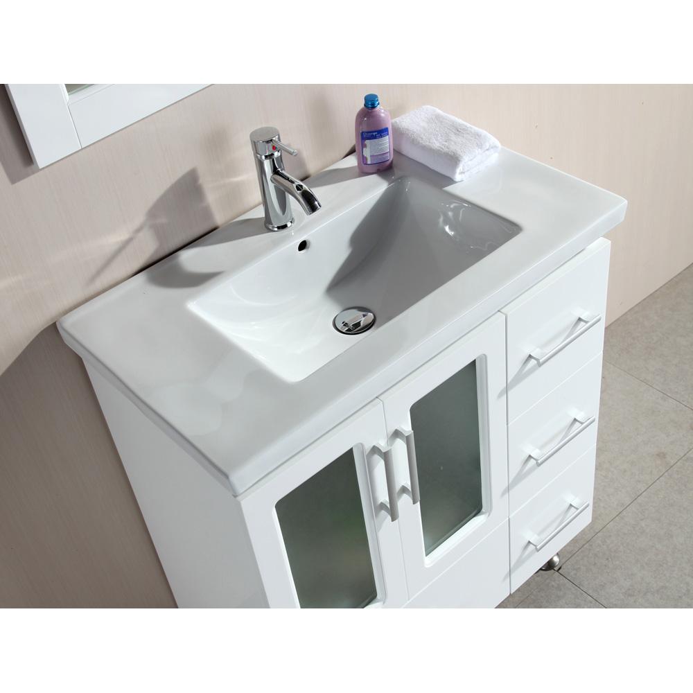 Design Element Stanton 32 Quot Single Sink Vanity Set With