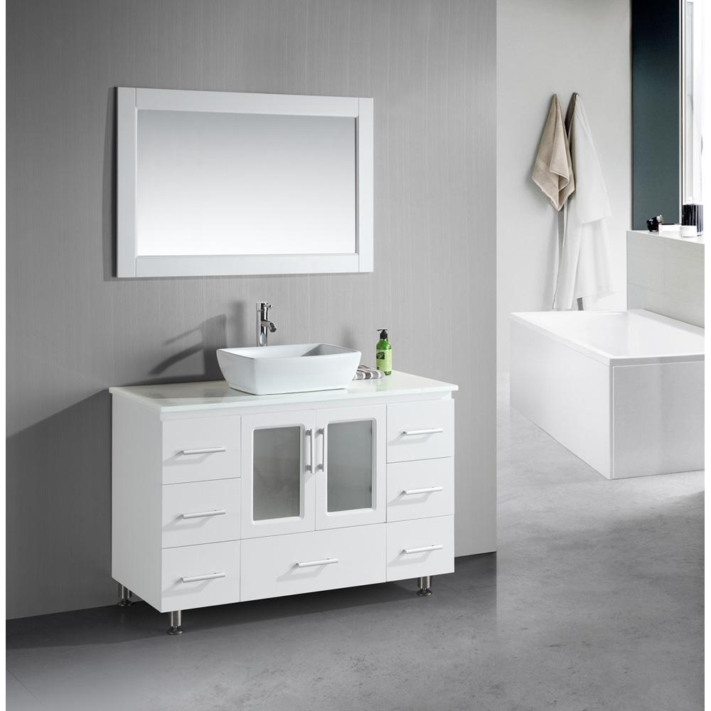 "Design Element Stanton 48"" Single Sink Vanity Set with ..."