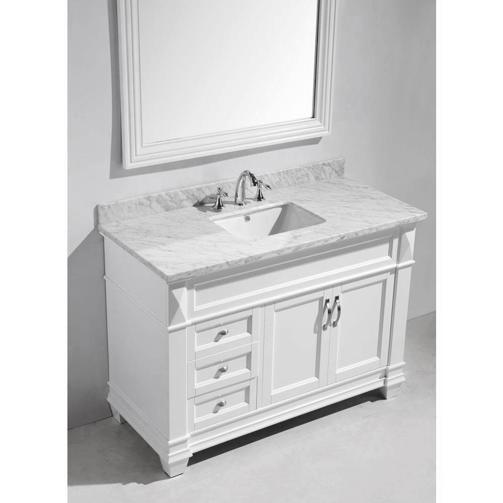 Design Element Hudson 48 Quot Single Sink Vanity Set With
