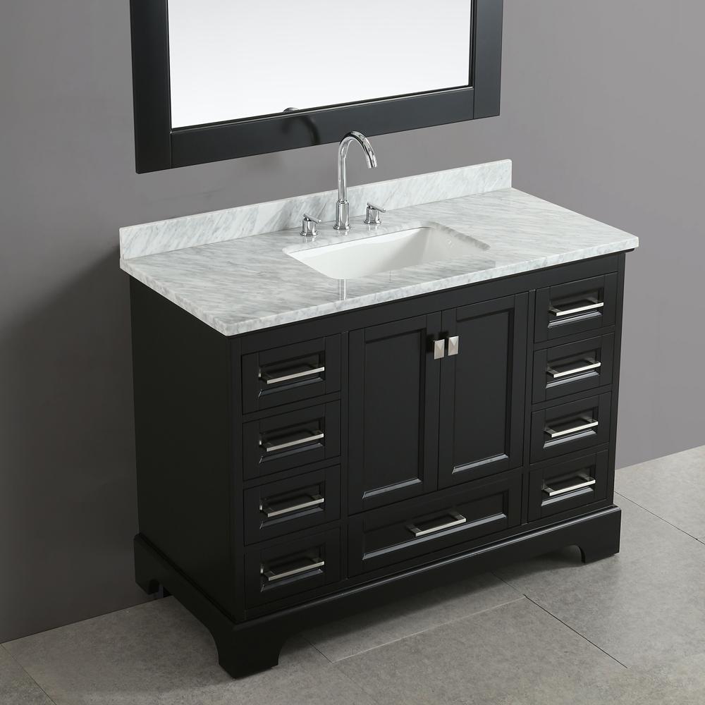 Design Element Omega 48 Quot Single Sink Vanity Espresso