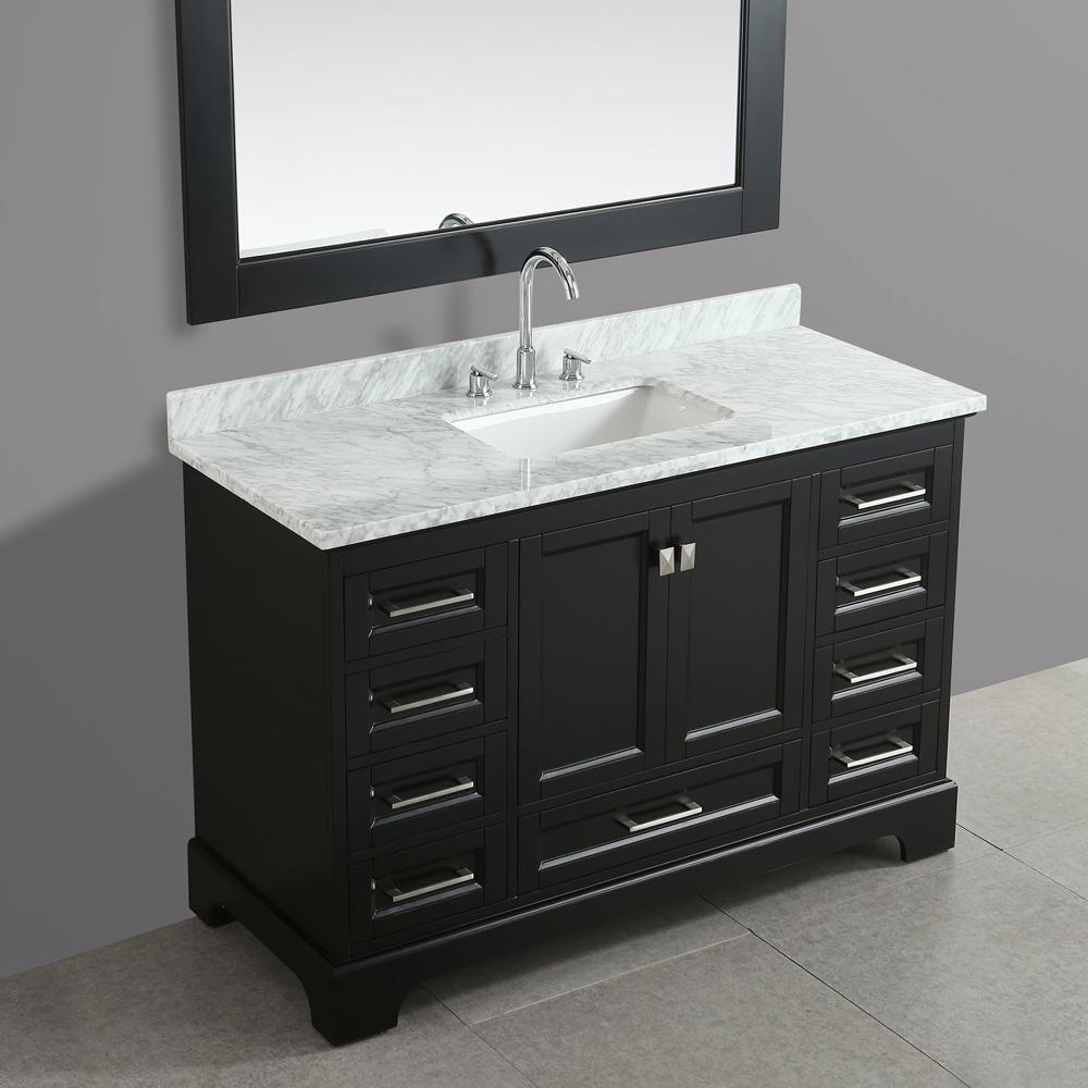 Design Element Omega 54 Quot Single Sink Vanity Espresso