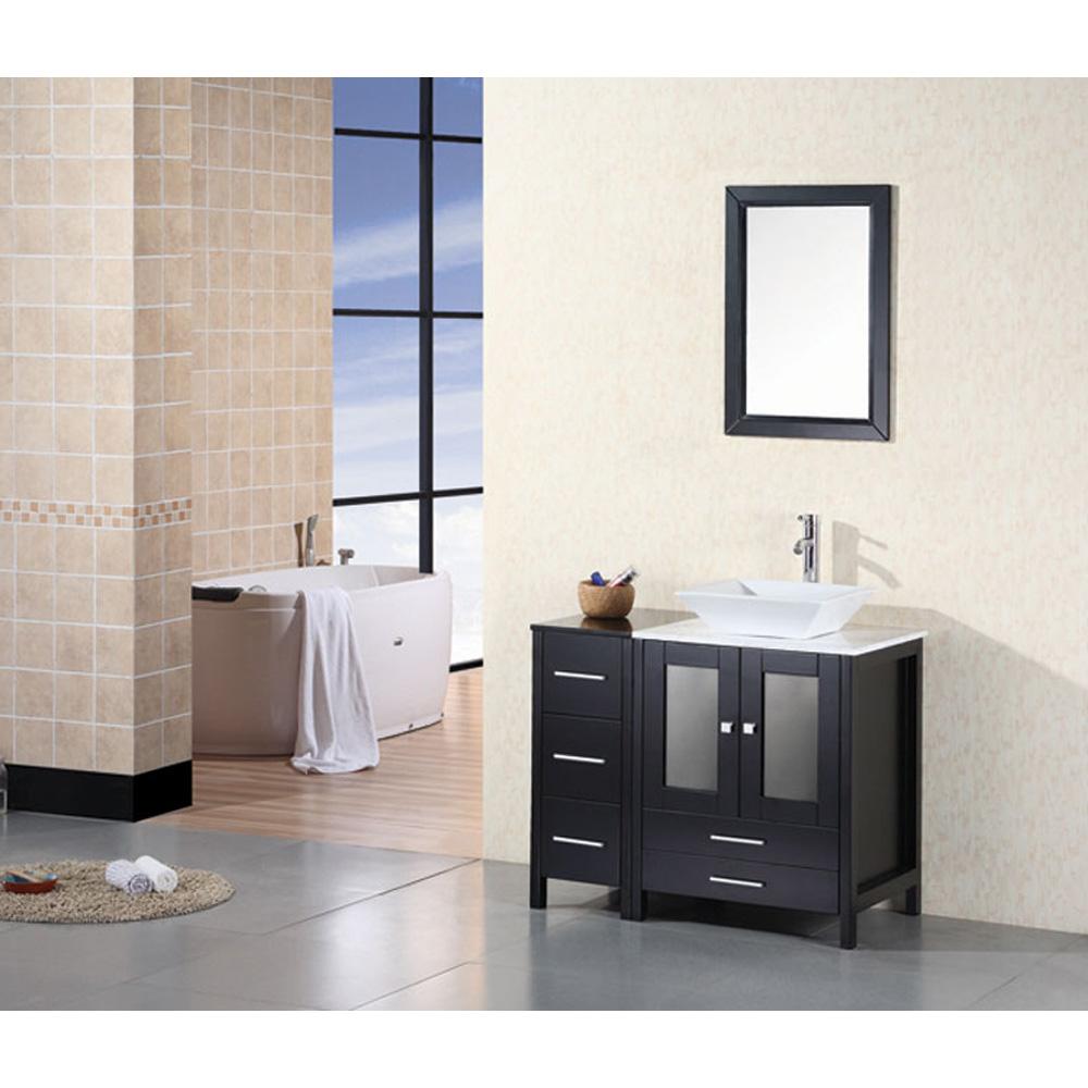 design element arlington 36 quot bathroom vanity espresso