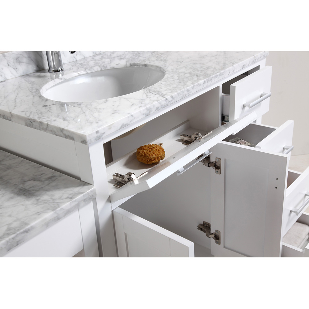 Design Element London 36 Quot Vanity Set With A Make Up Table