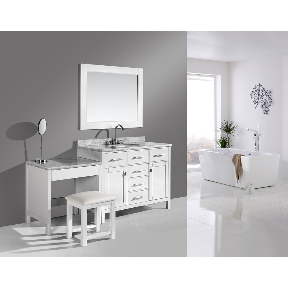Design Element London 42 Quot Bathroom Vanity Set With Make Up