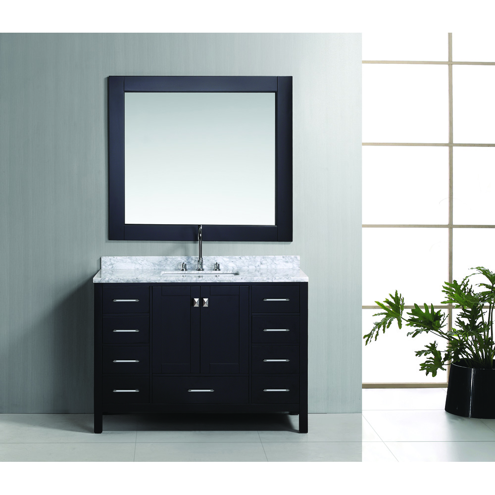 Design Element London 48 Vanity Set Espresso Free Shipping Modern Bathroom