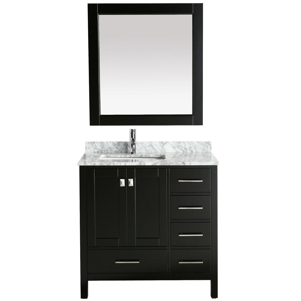 Single Sink Vanity Espresso
