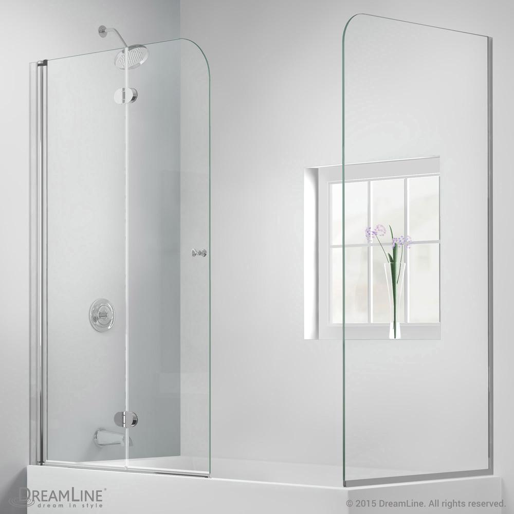 Bath Authority Dreamline Aquafold Hinged Tub Door 56 Quot 60