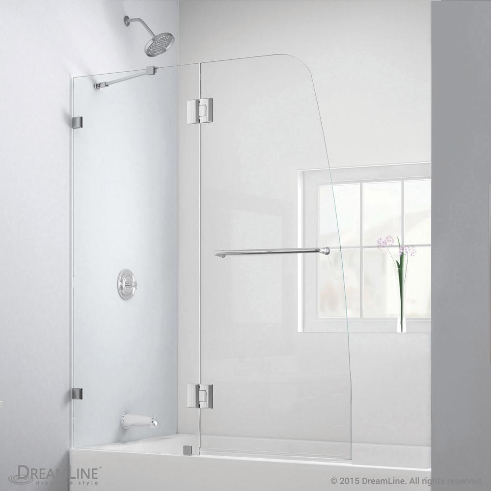 Bath Authority DreamLine Aqua Lux Clear Glass Tub Door | Free Shipping