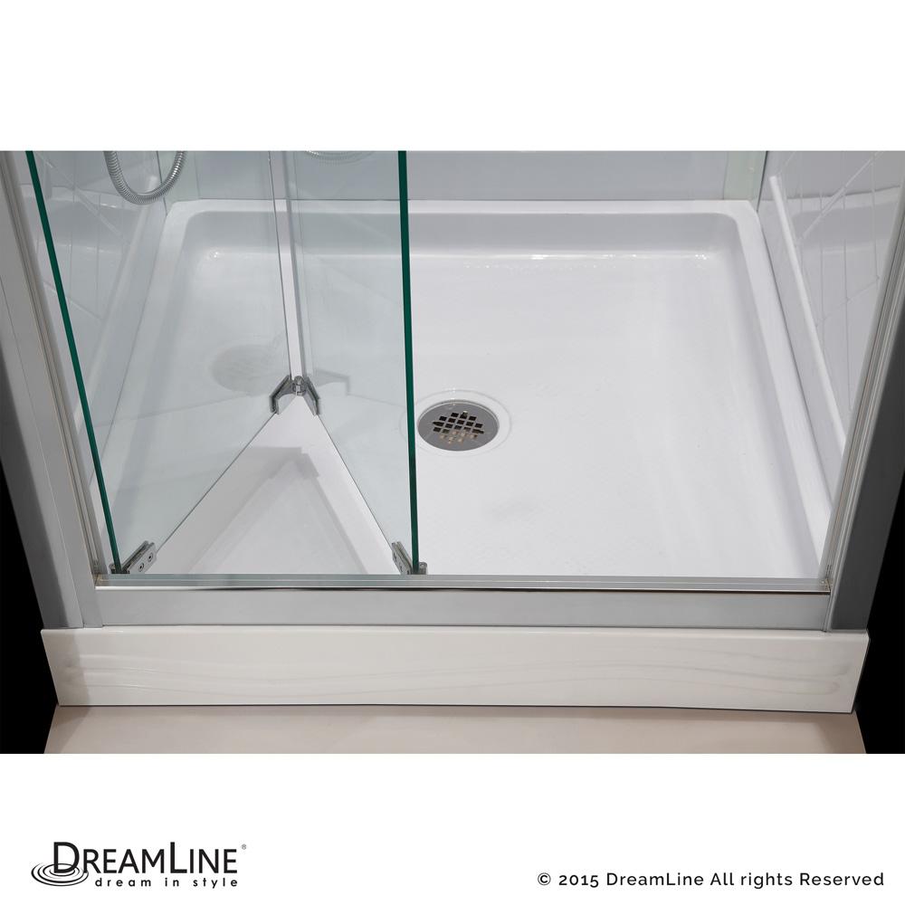 Bath Authority Dreamline Butterfly Frameless Bi Fold Shower Door 58