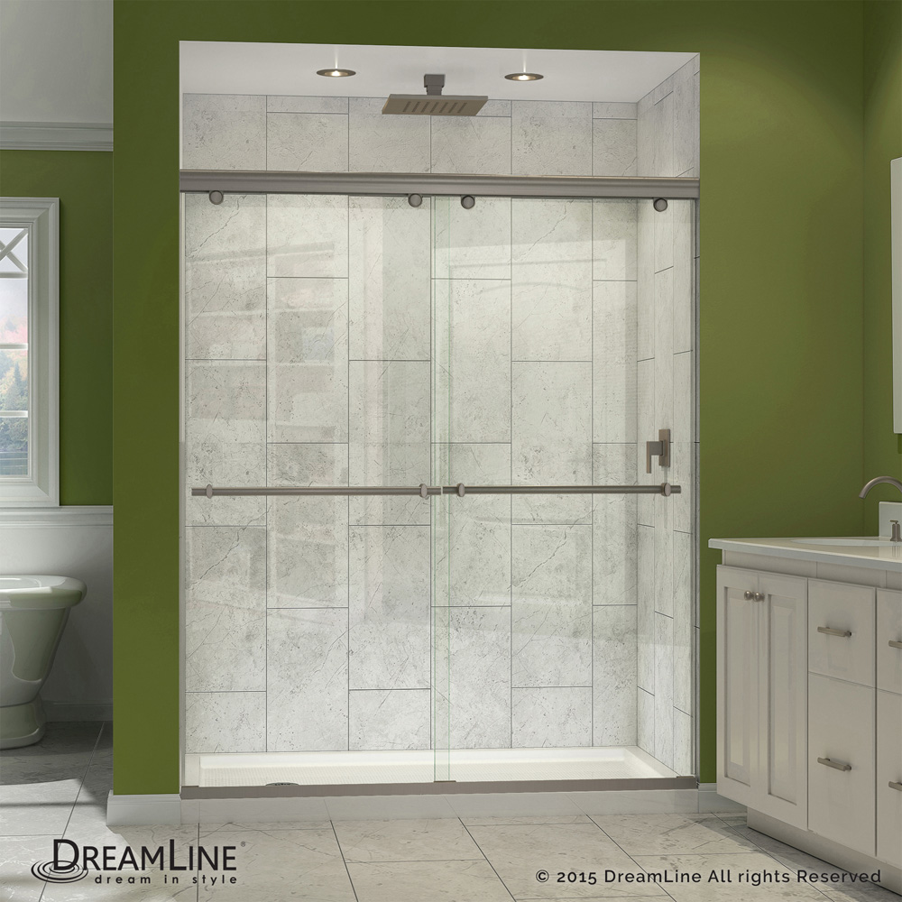 Bath Authority Dreamline Charisma Shower Door 56 Quot 60